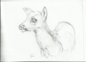 geyik.çizim.